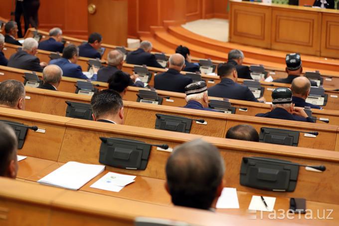 Senatning 25- yalpi majlisi 14 dekabrda chaqiriladi