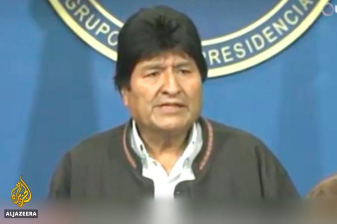 Боливия президенти истеъфога чикди
