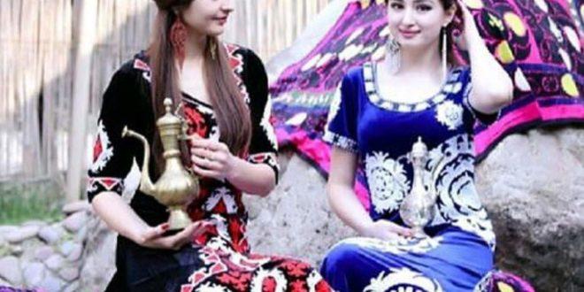 Узбекские национальные Платья — Костюмы