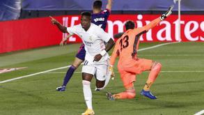 """La Liga. Vinisiusning yagona goli """"Real Madrid""""ga galaba keltirdi"""
