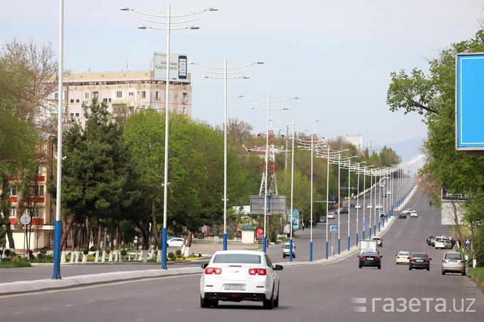 Фото, видео: Ташкент в условиях ограничения движения транспорта