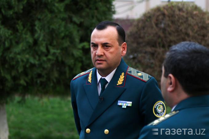 Рустам Жўраев Миллий гвардия қўмондони бўлди
